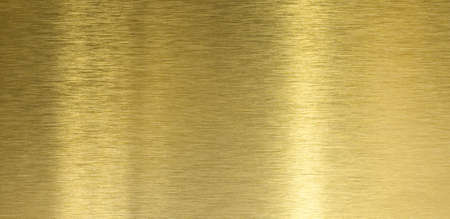 High quality brushed brass texture with light reflection