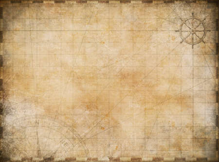 Photo pour old map exploration and adventure background - image libre de droit