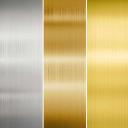 Photo for metal texture: gold, silver and bronze - Royalty Free Image
