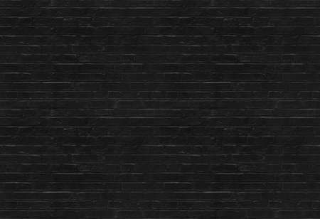 Seamless black brick wall pattern suitable for pattern filling