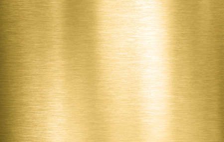 Gold metal brushed plate or texture