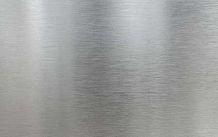 Photo pour Real metal aluminum brushed texture background - image libre de droit
