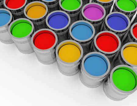 Photo pour 3d Abstract creativity concept - image libre de droit