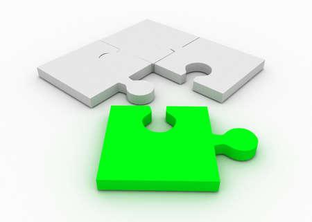 Photo pour puzzle concept - image libre de droit