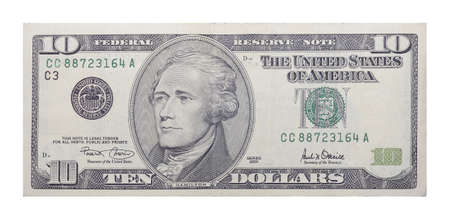 New 10 US dollars banknote