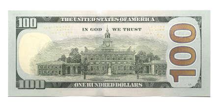 New 100 U.S. dollar banknote