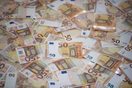 50 Euro banknotes (sample 2002 and 2017)