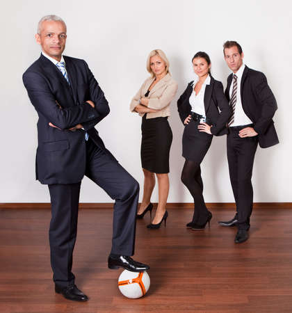 Strong competitive business team