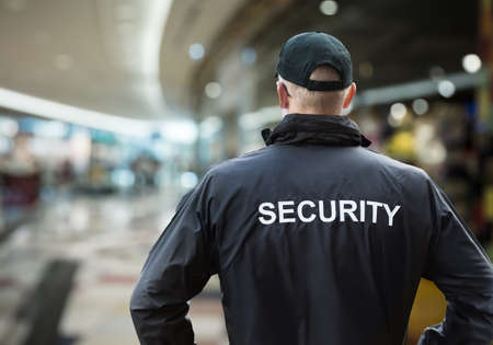 Photo for Mall Or Retail Store Security Guard Officer - Royalty Free Image