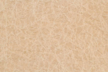 Photo for Crumpled paper beige textured sheet for background and design. Wrinkled texture effect. Copy space. - Royalty Free Image