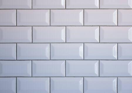 Photo pour White brick wall. Texture for the background - image libre de droit