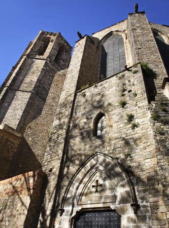 Santa Maria del Pi in Barcelona  Spain