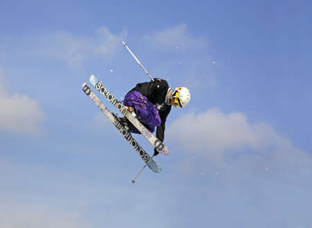 Freestyle skiing. Szczyrk. Poland