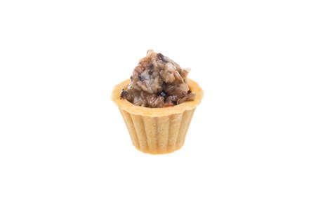 Canapes with mushroom caviar