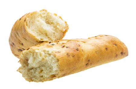 Bread with crisp