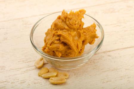 Foto de Peanut butter with nuts - Imagen libre de derechos