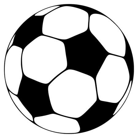 Soccer ball in one color