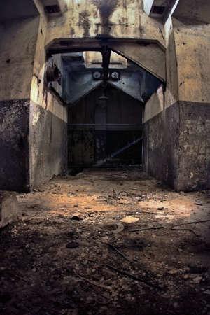 Industrial ruins