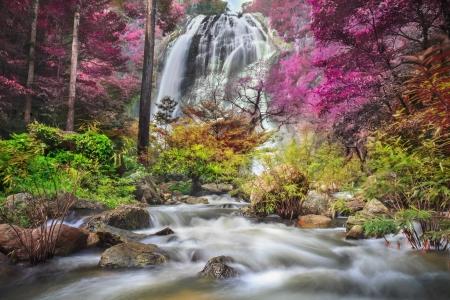 Klonglan Waterfall in Kampangpet Province, Thailand