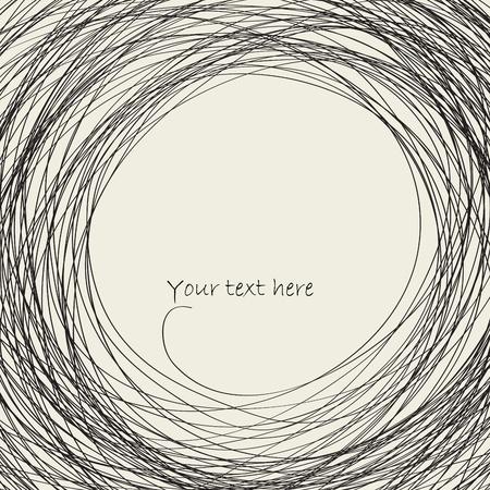 Illustration pour Abstract  curves - image libre de droit