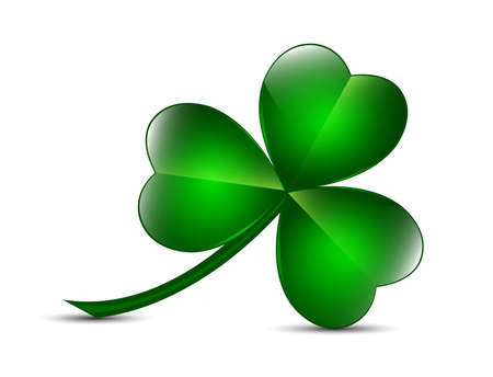 Three Leaf Clover Royalty Free Vector Graphics