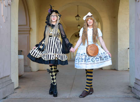 San Diego, USA, 2014, Lolita Girls