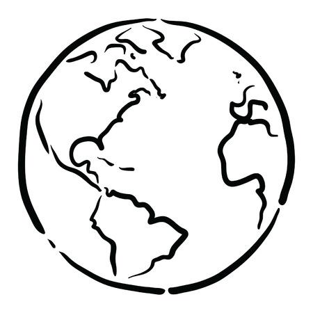 Illustration pour earth - image libre de droit