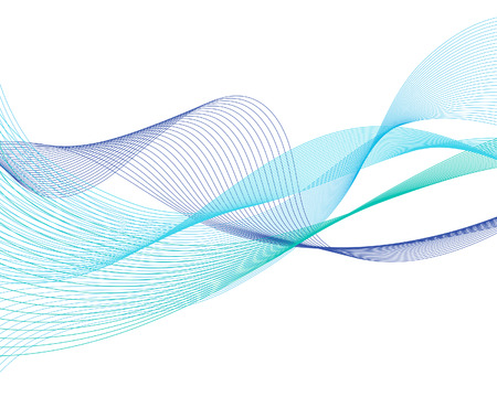 Abstract water lines vector background for design use