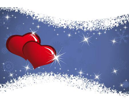 Abstract Valentine days theme background.