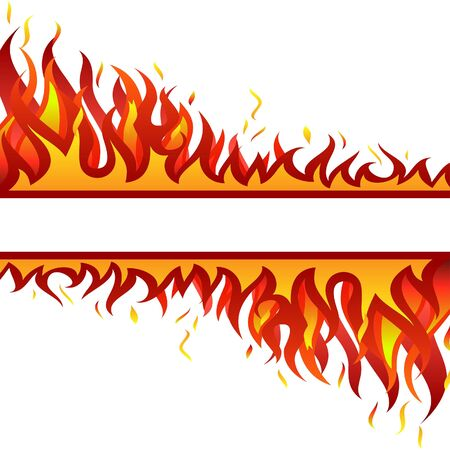 Inferno fire background for design use