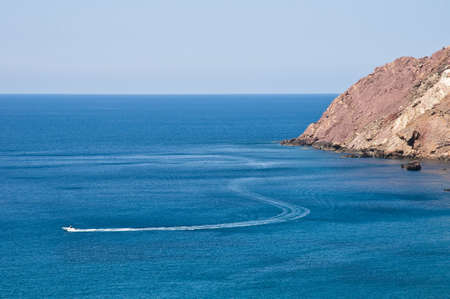 High speed boating, one of the many activities to perform around Minorca.