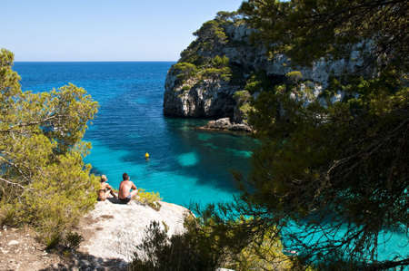 A piece of paradise only accesible by foot from Macarella beach.