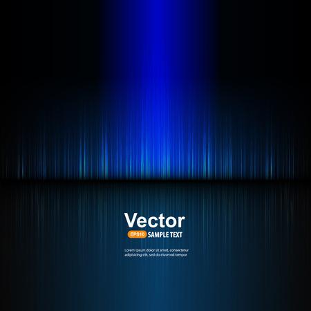 Illustration pour blue equalizer and illustration - image libre de droit