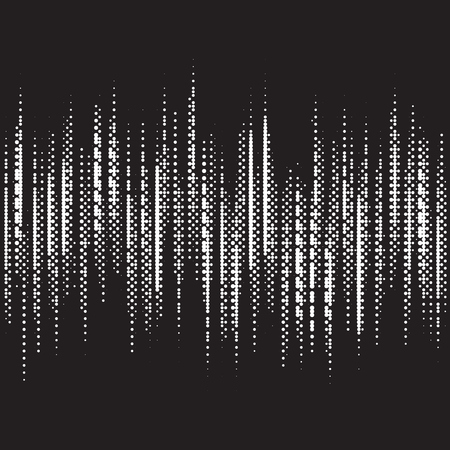 Illustration for music equalizer - Royalty Free Image