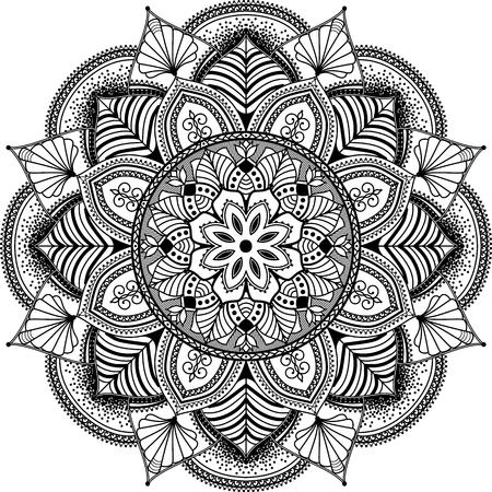 Ilustración de mandala inspired illustration - Imagen libre de derechos