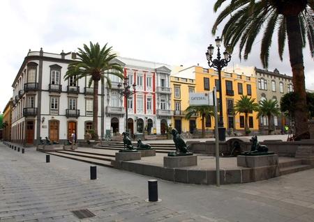 City centre in Las Palmas de Gran Canaria, Gran Canaria
