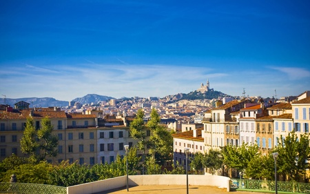 amazing city Marseille the view from la Gare, France