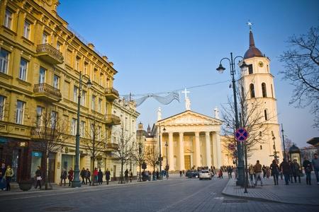Vilnius oldtown street ,Lithuania