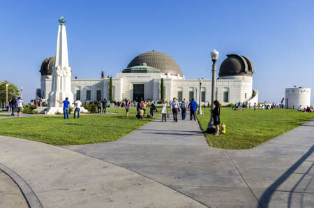 Los Angeles, California - June 9th, 2013 : Griffith Observatory is a facility sitting on the south-facing slope of Mount Hollywood in Los Angeles