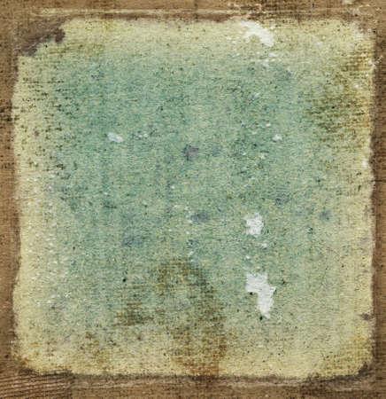 Vintage grunge frame - grainy surface