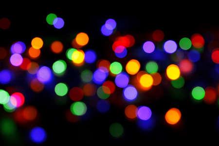 Photo pour abstract background with colored lights bokeh - image libre de droit