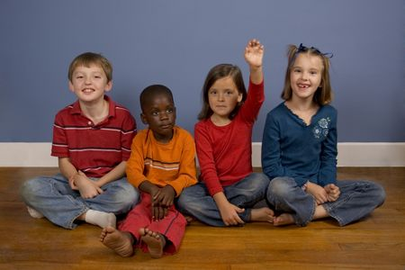 A series of images showing children of Diverse backgrounds.