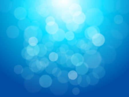 Illustration pour Lights On Blue Background - image libre de droit