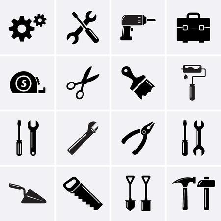 Illustration pour Tools icons. - image libre de droit