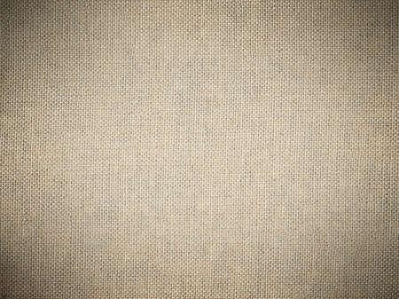 Photo pour Sackcloth texture background with dark vignette. - image libre de droit