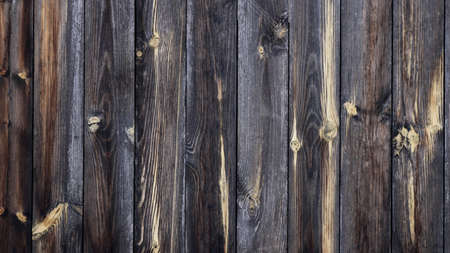 Photo for textured wooden background of gray dry planks full frame, rustic style aged wood texture, natural plank backdrop, rural old fence fragment graphic resource - Royalty Free Image