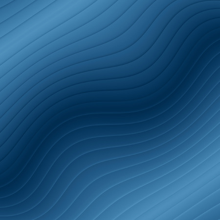 Graceful Blue Wave Background