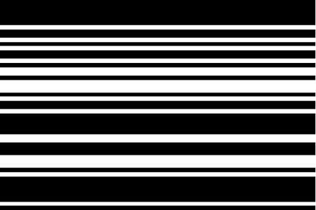 Pattern with black and white horizontal stripes.