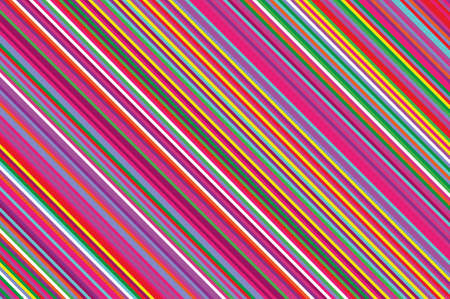 Colorful striped diagonal background with slanted lines.