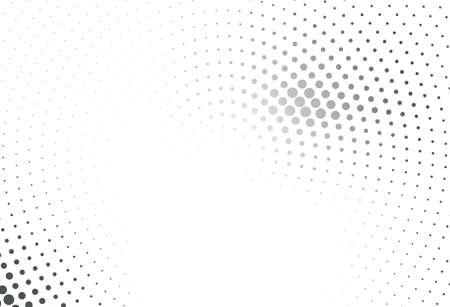 Illustration pour Abstract futuristic halftone pattern. Comic background. - image libre de droit